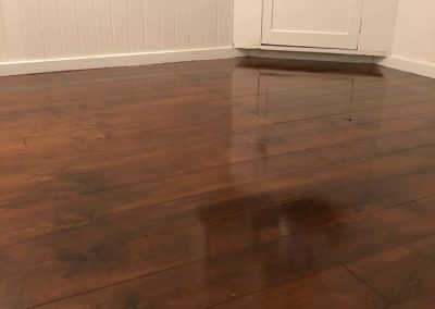 Wooden floor restoration and wood staining by Nice Paint Company